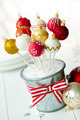 Christmas bauble cake pops - PhotoDune Item for Sale