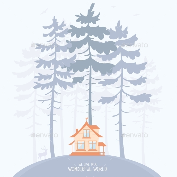 GraphicRiver Pine and Lodge 9358783