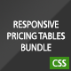 Responsive Pricing Tables Bundle - CodeCanyon Item for Sale