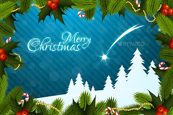 GraphicRiver Merry Christmas Greeting Card 9359130