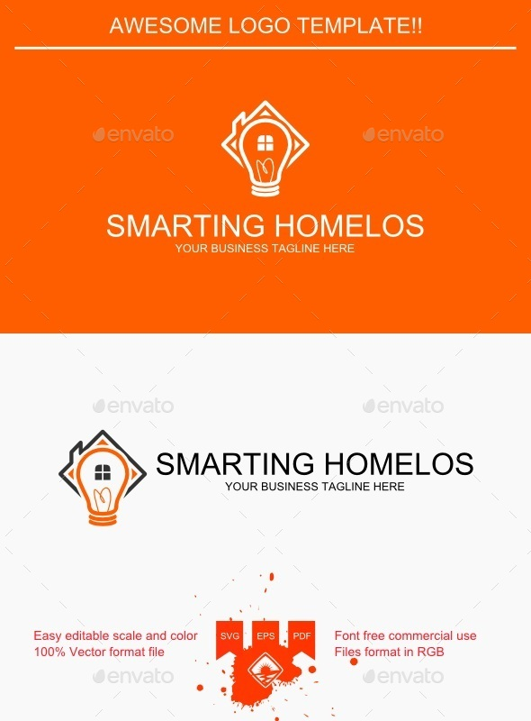 GraphicRiver Smarting Homelos Logo 9250526