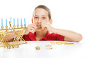 Jewish Child on Hanukkah - PhotoDune Item for Sale