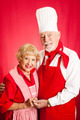 Seniors Cook Together - PhotoDune Item for Sale