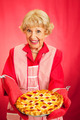 Grannys Home-baked Cherry Pie - PhotoDune Item for Sale
