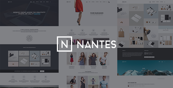 ThemeForest Nantes Creative Ecommerce & Corporate Theme 9359640