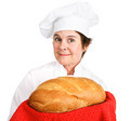 Chef with Fresh Bread - PhotoDune Item for Sale