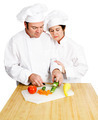 Chefs Chop Vegetables - PhotoDune Item for Sale