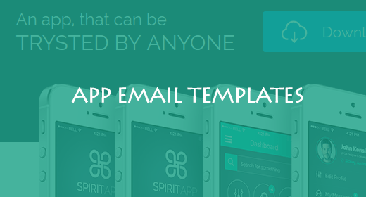 APP EMAIL TEMPLATES