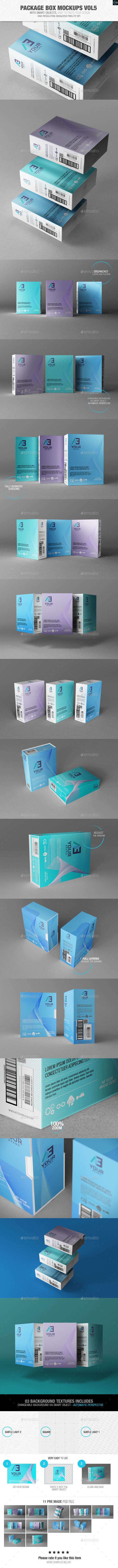 Package Box Mockups Vol5