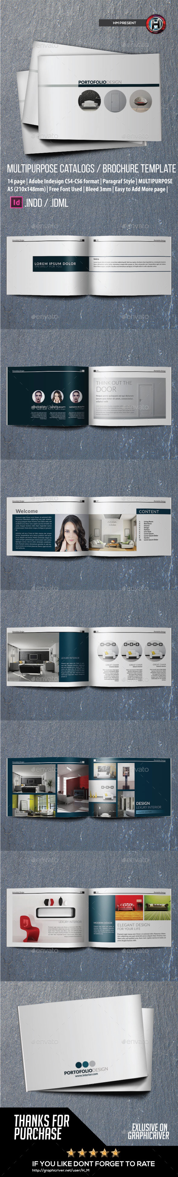 Multipurpose Brochure or Portofolio Design