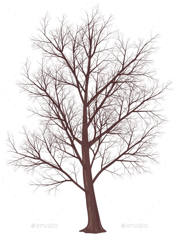 GraphicRiver Winter Tree 9360019