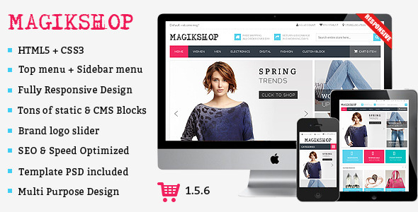 ThemeForest Shop Premium Responsive OpenCart Theme 9360119