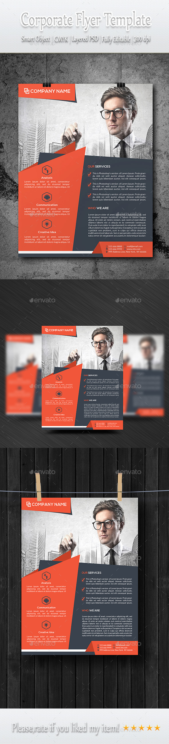 GraphicRiver Business Flyer Template 9360120