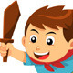 Boy in Action - GraphicRiver Item for Sale