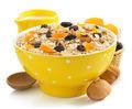 bowl of cereals muesli on white - PhotoDune Item for Sale
