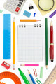 school supplies on white - PhotoDune Item for Sale