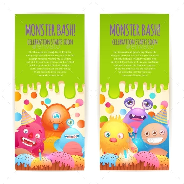 GraphicRiver Monsters Vertical Banners 9361058