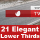 Elegant Lower Thirds Package - VideoHive Item for Sale