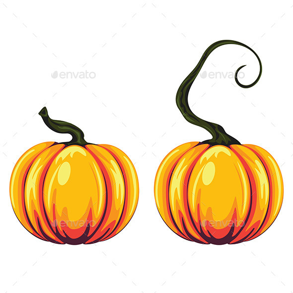 GraphicRiver Pumpkin Illustration 9361842