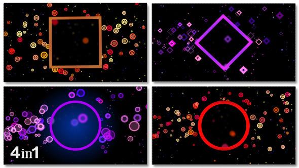 Space Colorful Loop 4-Pack