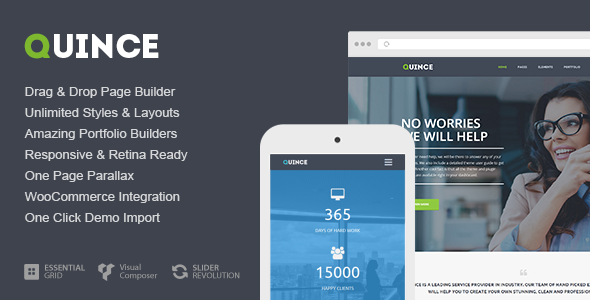 Quince Modern Business Theme