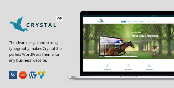 ThemeForest Crystal Responsive Business WordPress Theme 9363414