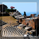 People In An Ancient Amphitheater - VideoHive Item for Sale