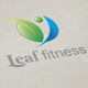 Leaf Fitness Logo - GraphicRiver Item for Sale