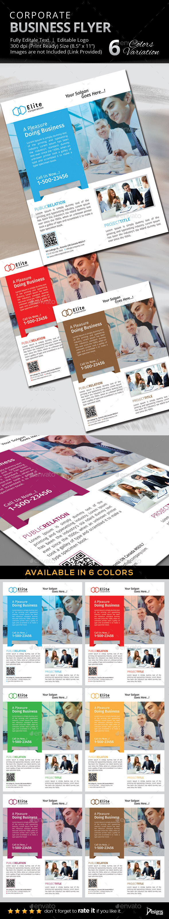 GraphicRiver Flyer Multipurpose Business Flyer 11 9364174
