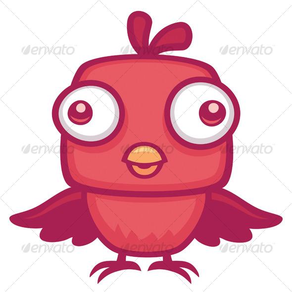 Cute baby cartoon birds - photo#19