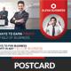 Transport Business Postcard Template - GraphicRiver Item for Sale