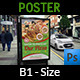 Pizza Restaurant Poster Template - GraphicRiver Item for Sale