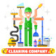 Cleaning Company - GraphicRiver Item for Sale