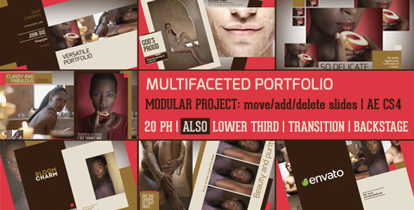 Multifaceted Portfollio & Slideshow