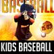 Kids Baseball Flyer - GraphicRiver Item for Sale