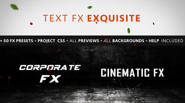 Text FX Exquisite !