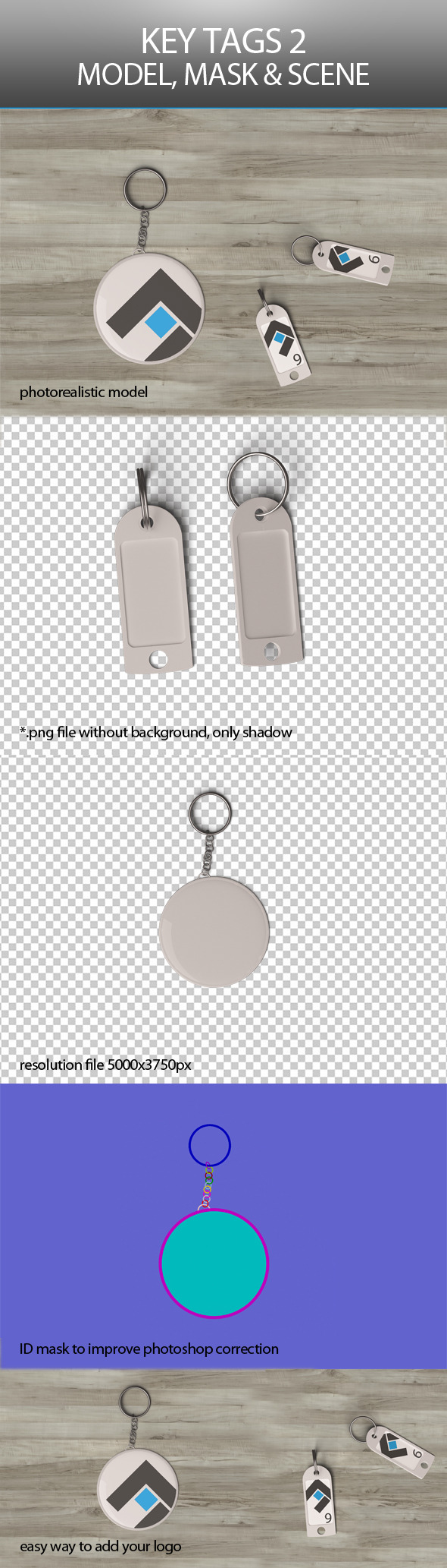 3DOcean Key Tags 2 9366443