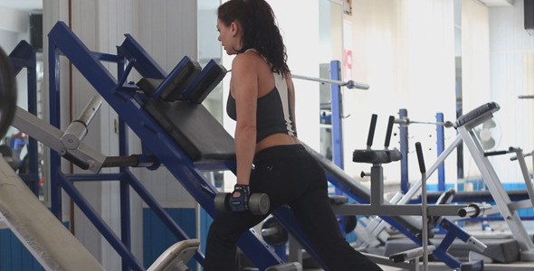 The Girl in The Gym 27