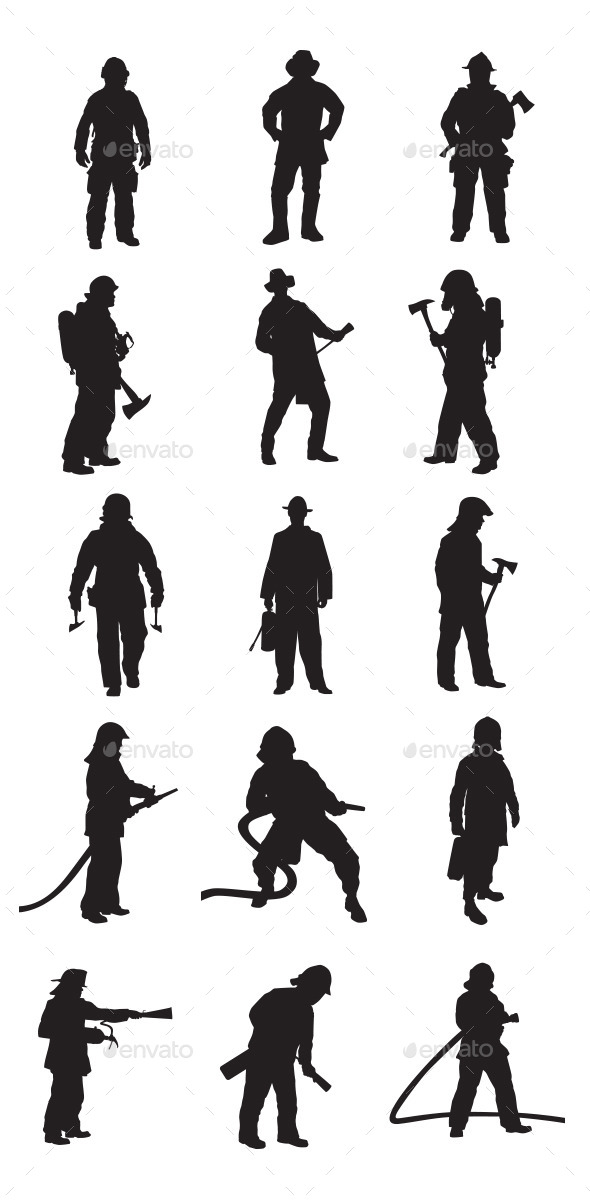 Fireman People Characters