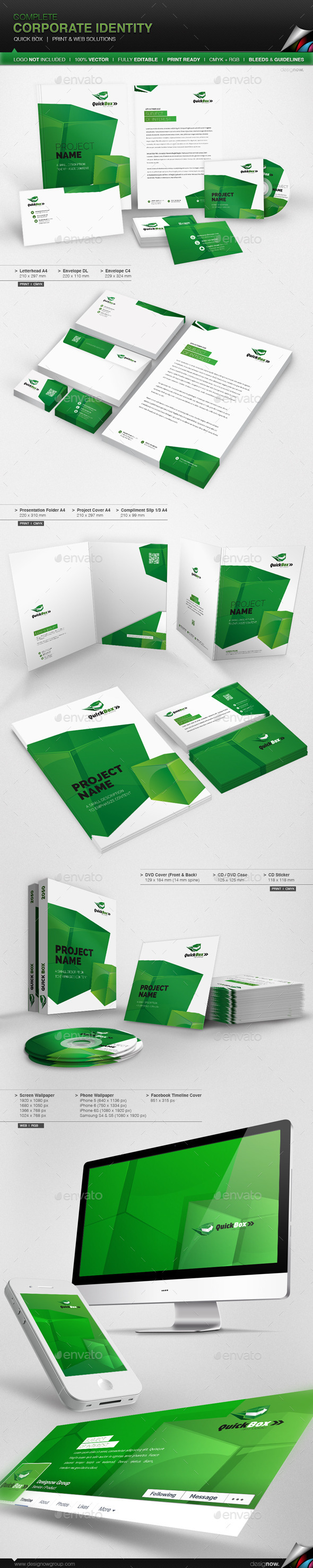 GraphicRiver Corporate Identity Quick Box 9367292