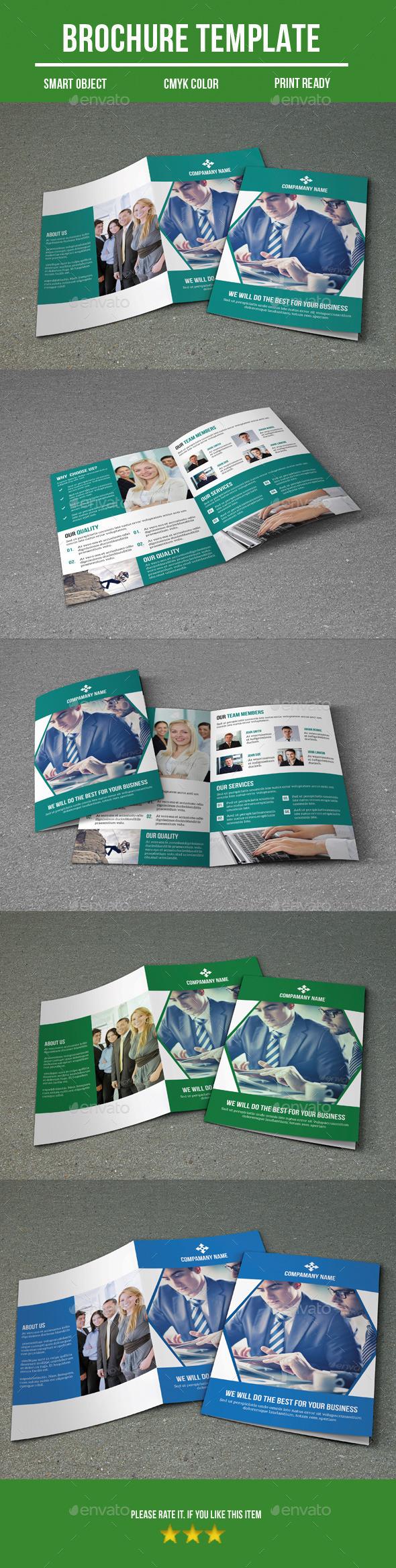 GraphicRiver Bi- Fold Business Brochure 9367302