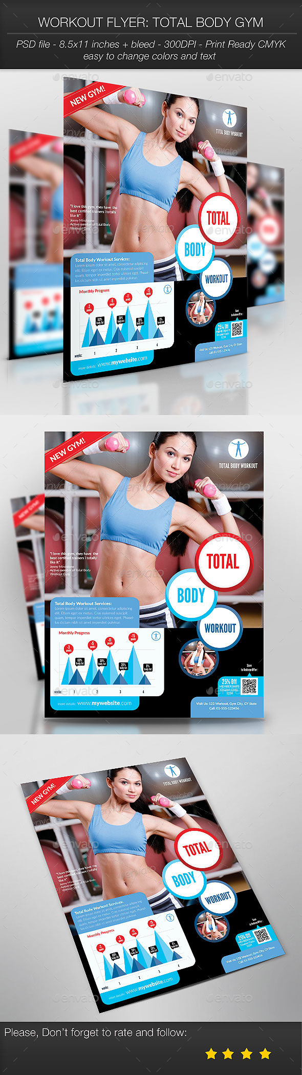 Workout Flyer: Total Body Gym