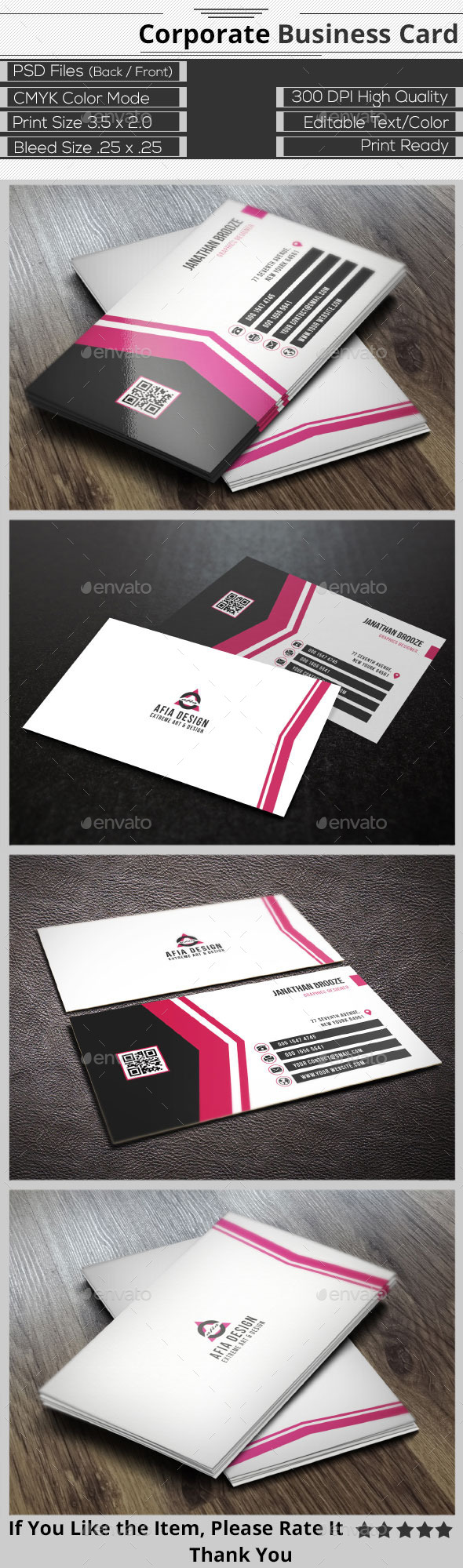 GraphicRiver Corporate Business Card 9367586