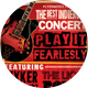 Indie Rock Concert Flyer - GraphicRiver Item for Sale