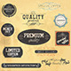 Premium Quality and Guarantee Labels - GraphicRiver Item for Sale