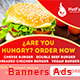 Banners Hot Food - GraphicRiver Item for Sale