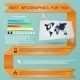 Infographic with Line - GraphicRiver Item for Sale