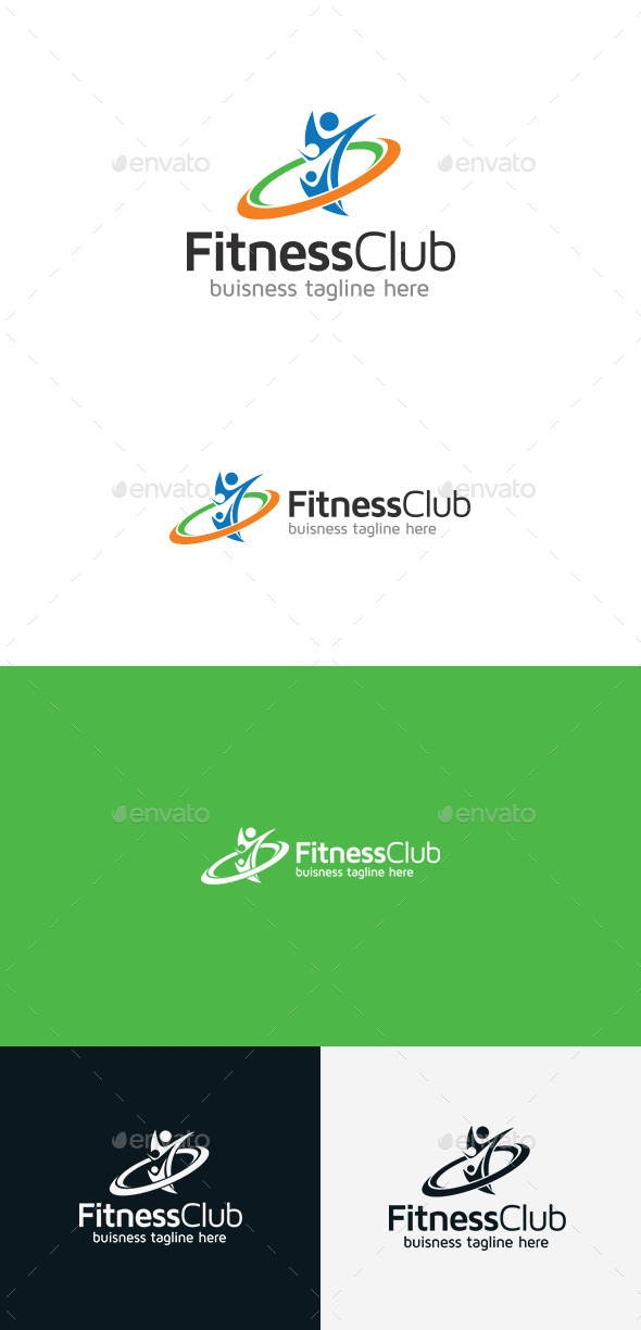 GraphicRiver Fitness Club 9368814