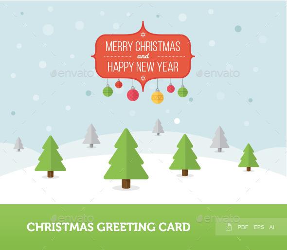 Christmas Greeting Card 1