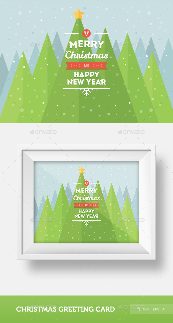 GraphicRiver Christmas Greeting Card 9369375